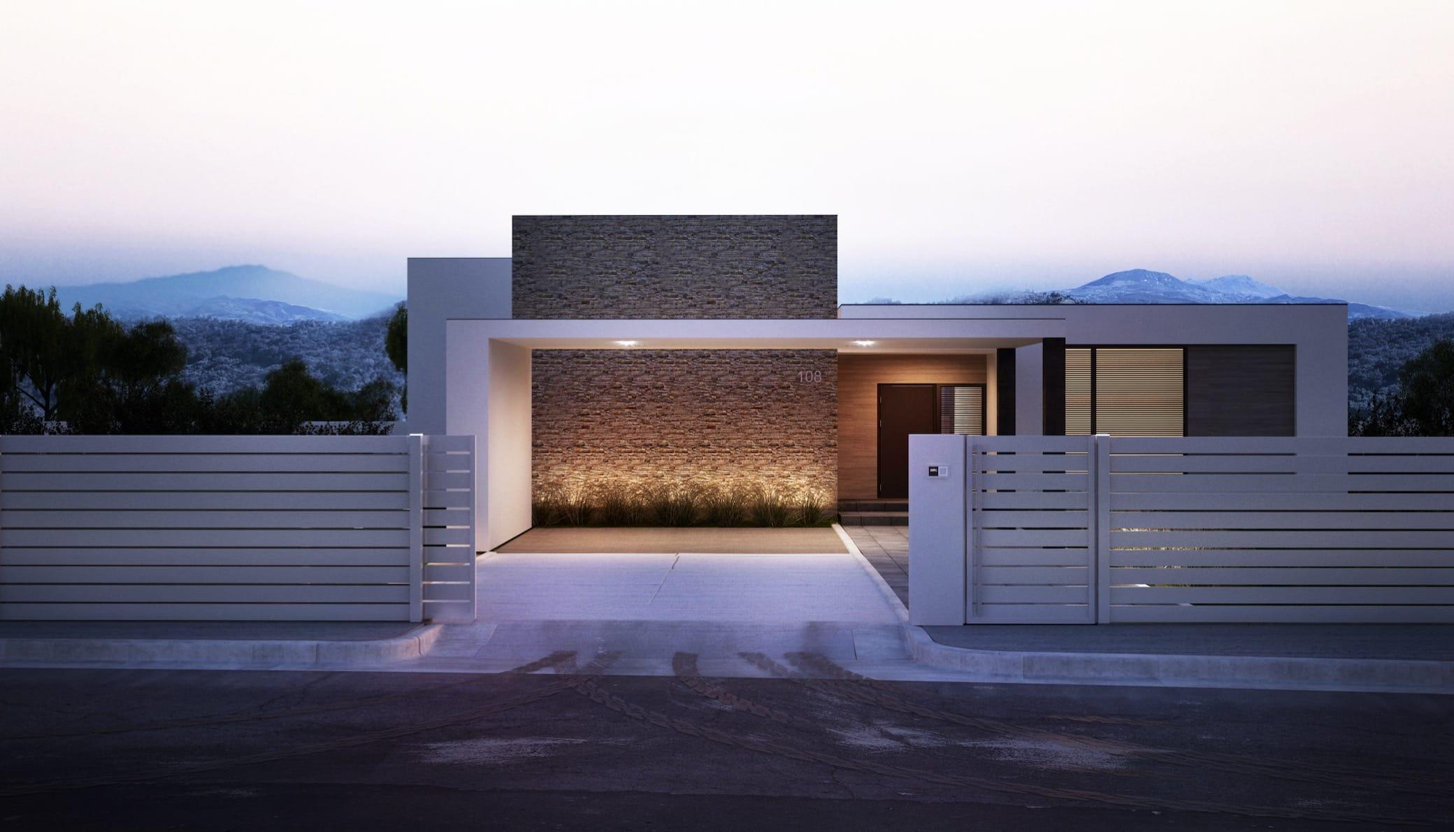FENZ REGULAR ogrodzenie aluminiowe