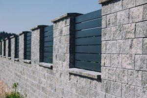 Réalisation de la clôture MINOR